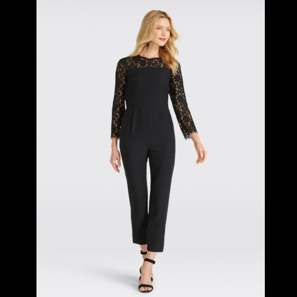 Draper James Dresses & Skirts - 🆕Draper James Black Lace Jumpsuit